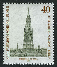 Germany-Berlin 9N463, MNH. Berlin-Kreuzberg, Liberation Monument, 1981