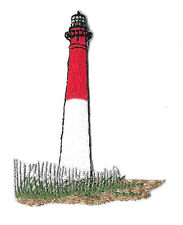 Lighthouse - Beacon - Sea - Embroidered Iron On Applique Patch
