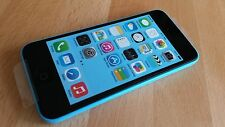 Teléfono inteligente, Smartphone Apple iPhone 5c - 16gb-sin bloqueo SIM-color: azul