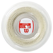 Wilson Sensation Control 1.30mm 16 Tennis Strings 200M Reel