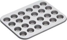 Kitchen Craft Antiadherentes 24 Mini Agujero Canape Tart tartlet Bandeja Para Hornear Bandeja