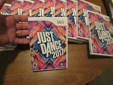 Just Dance 2017 (Nintendo Wii, 2016) videogame NEW FACTORY SEALED