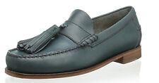 $350 Florsheim by Duckie Brown Loafers 13 US 46 EU Burnished Blue Free US Ship