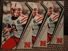 Ameer Abdullah (3) Nebraska Huskers 2014 Schedule Cards RB records NFL Draft