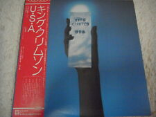 KING CRIMSON-USA Japan 1st.Press w/OBI Yes Pink Floyd EL&P UK Asia Eno Genesis