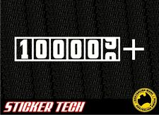 100,000+ CLUB STICKER DECAL SUITS GTR WRX EVO HSV FPV GT V8 SS BOSS 290 V8 V6