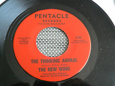 RARE GARAGE PSYCH 45 rpm THE NEW WING / SONS OF ADAM on PENTACLE lb 1967 HEAR!