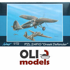 "1/72 Polish PZL P.24F/G ""Greek Defender"" - Azur A076"