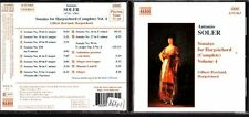 CD 1372  ANTONIO SOLER  SONATAS FOR HARPSICHORD VOL 4