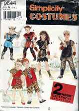 SEWING Patterns COSTUME Cavemen VIKING Prehistoric  Sz Sml to Lg Childs