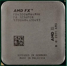 AMD FX-4300 3.8 GHz Quad-Core Processor Socket AM3+ 32NM CPU Bulk Package