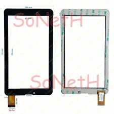 "Vetro Touch screen Digitizer 7,0"" Mediacom SmartPad 721M M-MP721M 3G Tablet Nero"