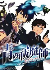 DVD BLUE EXORCIST Episode 1-25 END + MOVIE Complete ENGLISH Dubbed Anime Boxset