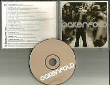 PAUL OAKENFOLD Bunkka ADVNCE PROMO CD w/ NELLY FURTADO Tricky JANE'S ADDICTION