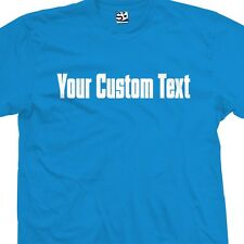 Custom Gas Pipe Font T-Shirt - Personalized Mafia Godfather Block Text Lettering