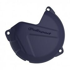 HUSQVARNA  HUSKY  TE 125  2014-2016  CLUTCH COVER PROTECTOR GUARD BLUE
