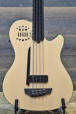 Godin A4 Ultra Fretless EN SA 4-String Electro-Acoustic Bass w/ Bag - #16074100
