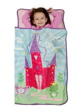 Princess Fairytale Castle NAP MAT Toddler BLANKET+Pillow Daycare Preschool Kids