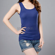 Sexy Women's Lady Casual Vest Tank Tops Sleeveless Multi-Color Fashion New