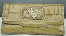 New Stylish 100% Original SLG Wallet GUESS Limited Retro Croc Camel Ladies