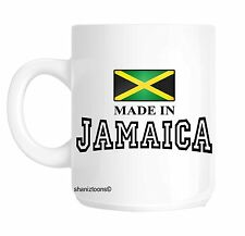 Made Born In Jamaica Birthday Gift Mug shan543