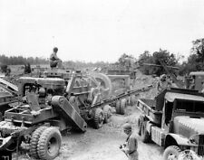 6x4 Gloss Photo ww43F Normandy English Channel Carentan 1944 19