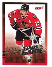 2008-09 Upper Deck Victory Stars Of The Game Jonathan Toews