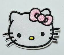 Pink Hello Kitty Iron On Patches,Made of Cloth Guaranteed 100% Quality