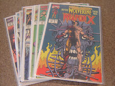 MARVEL COMICS PRESENTS COMPLETE WEAPON X RUN