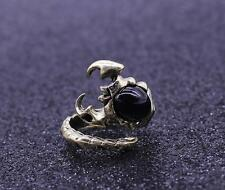 Steampunk Retro Punk Fashion Forward Dark Scorpion Ring Scorpio Metal New Year