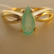 'Neon' Natural Paraiba Opal Gold Ring
