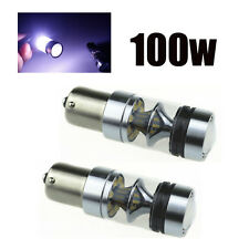 2pcs CREE XBD 100W 1156 S25 P21W BA15S LED Backup Light #U Car Reverse Bulb Lamp