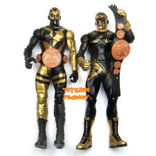2x WWE Goldust & Stardust Cody Rhodes Tag Team Belt Action Figures Kid Toy Pack