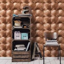 AS CREATION SQUARE PATTERN LEATHER EFFECT NON WOVEN TEXTURED WALLPAPER 959991