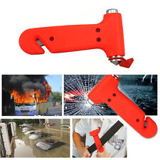 2in1 Emergency Life Saving Hammer Car Glass Breaker Seat Belt Cutting Security