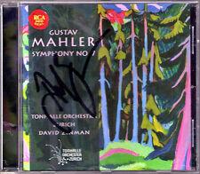 David ZINMAN Signiert MAHLER Symphony No.7 Sinfonie CD Tonhalle Orchestra Zurich