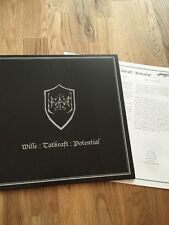 Halgadom - Wille : Tatkraft : Potential LP - Red Vinyl (Black Metal Sammlung)