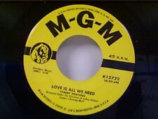 "TOMMY EDWARDS ""LOVE IS ALL WE NEED / MR MUSIC MAN"" 45 MINT"