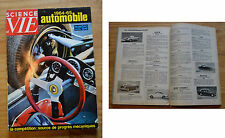 Science et Vie HS l'automobile, 1964, 192 p., modèles 1965, bon état