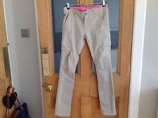 DKNY ladies cotton trousers Jeans in beige size 8 USA 4