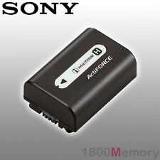 GENUINE SONY NP-FH50 Handycam Li-Ion Battery for Sony Alpha Cameras DSC-HX1