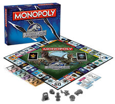 MONOPOLY: JURASSIC WORLD EDITION BOARD GAME BY USAOPOLY FREE SHIPPING