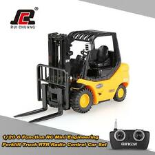 RUICHUANG 1/20 6 Function RC Mini Engineering Forklift Truck RTR Car Set R8H2