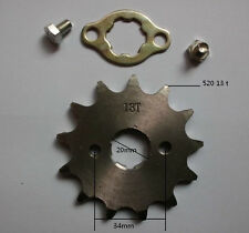 MOTOCROSS 13 TOOTH 20mm gear sprocket for 520 chain motorcycle MOTO pit bike atv