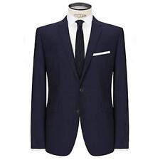 New KIN by JOHN LEWIS Stamford Tonic Slim Fit Sb2 Suit Jacket Midnight Size 42S