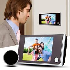 "Digital Peephole 120° Viewer Door Eye Doorbell 3.5"" Touch Screen  IR Camera TOP"