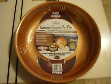 """New ! Culinary Edge Ceramic Copper Pro Pan Non Stick Goated Surface 9.5"""" Fry Pan"""