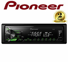 Pioneer MVH-190UBG WMA MP3 FLAC Mechless Car Stereo RDS USB Aux In Android Green