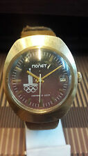 POBEDA RUSSIAN MECHANICAL OLD GOLD CASE VERY VERY RARE VINTAGE WATCH
