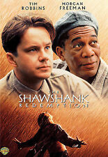 THE SHAWSHANK REDEMPTION MORGAN FREEMAN CLANCY BROWN NEW DVD